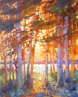 West View Tapestry SOLD