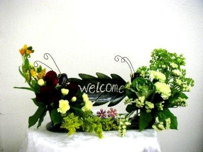 Unique arrangement-Welcome Sign