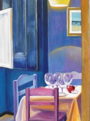 Table at the Estalagem