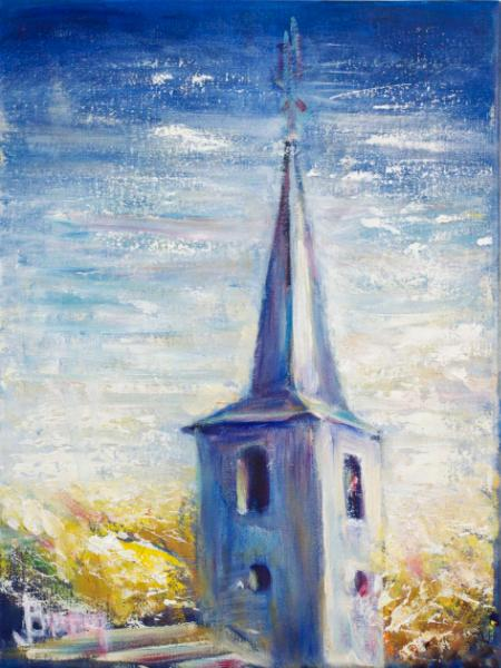 Church Steeple in Esch