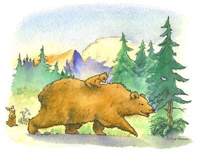 """Teddy's big adventure"""