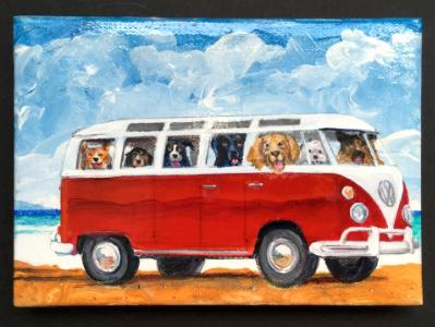 BUSLOAD OF DOGS