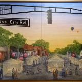 Groovy City - Kroger Mural