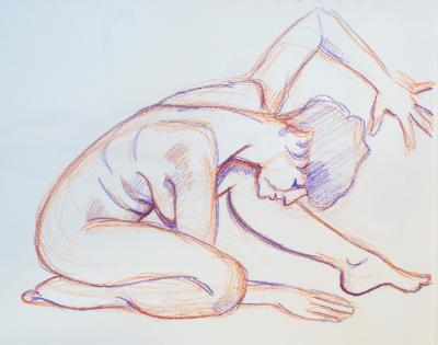 Raquel, Nude Pretzel