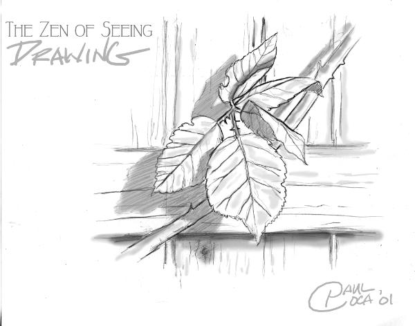The Zen of Seeing Blackberry Leaves