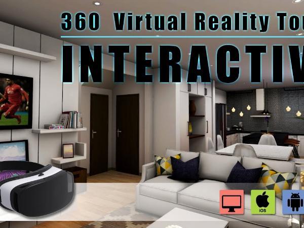 Interactive 360 VR Tours walkthrough