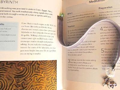 sterling unicorn velvet bookmark