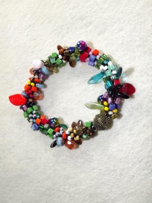B-1 multi confetti bracelet