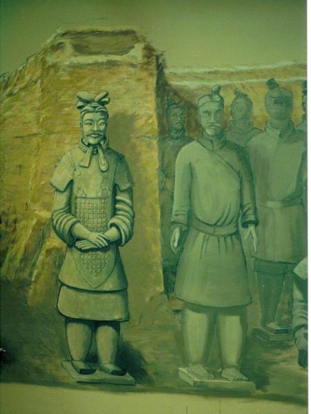 Son of Heaven mural- Columbus