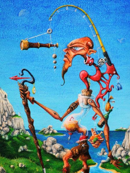 Hung Up: The Art of Kevin Woolford
