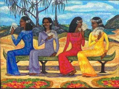Fans of Gauguin