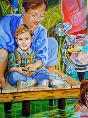 Mural #2 Detail