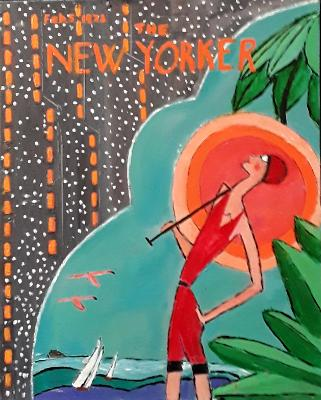 New Yorker Cover 1922