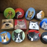 Pet Portrait Treasure Boxes