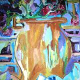 Calico Vase