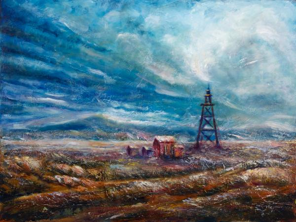 Montana Moonscape 1 - SOLD