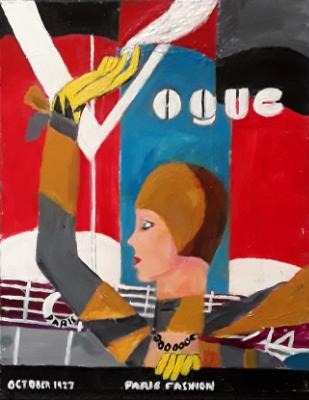 Vogue Cover October 1927
