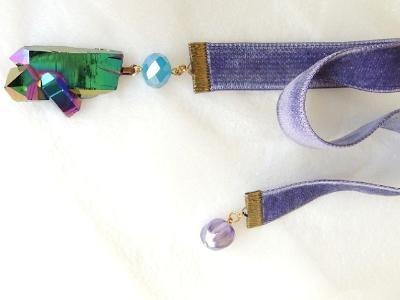 titanium quartz bookmark velvet