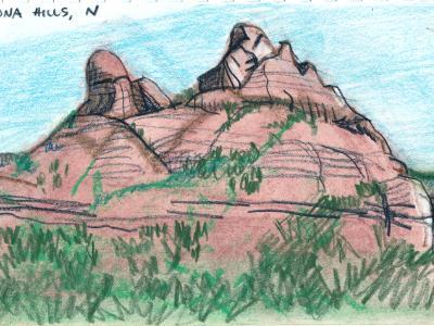 Sedona Hills, Norther view