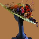 Hat Design to promote Naples Garden Club and Botanical Gardens 2020