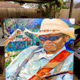 Blue Dog cafe with Clarence Gatemouth Brown