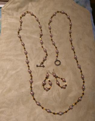 Long versatile pearl set