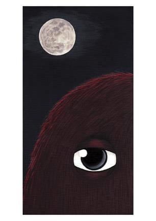 Carmine Moon