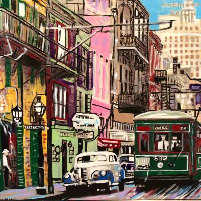 Desire 1950's New Orleans