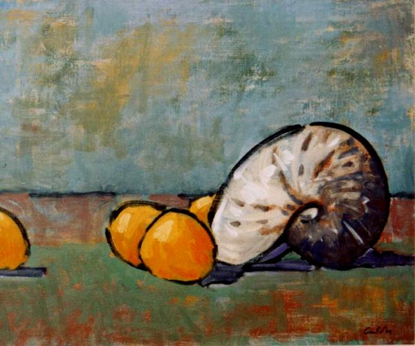 Shell and oranges