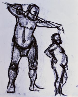 Bob, Standing Nudes