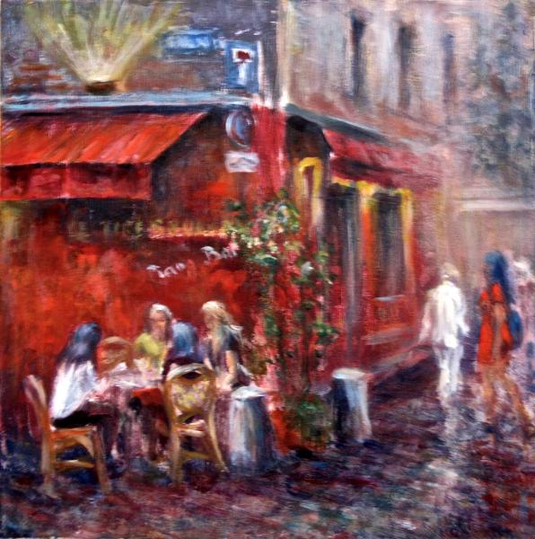 Girls' Night Out in Paris - SOLD