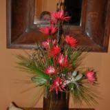Christmas floral arrangement 2014