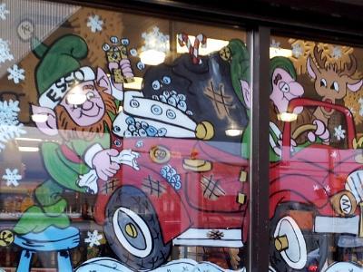 Santa` s¸ car wash