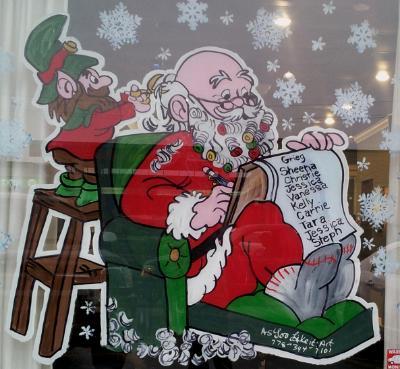 Santa Curlers