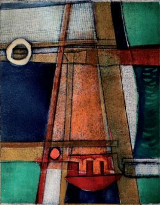 Sailing Abstract (sold)