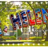 St. Helens Postcard