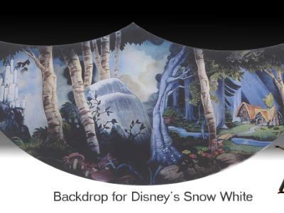 Snow White Backdrop
