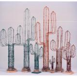 Barbed-Wire Saguaros