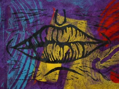 Lips (purple)