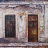 Old Gallery in Colonia, Uruguay