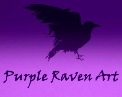 Purple Raven Art