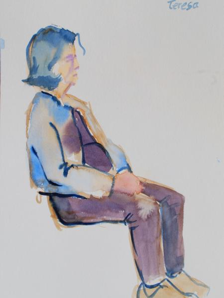 Teresa, Seated Figure