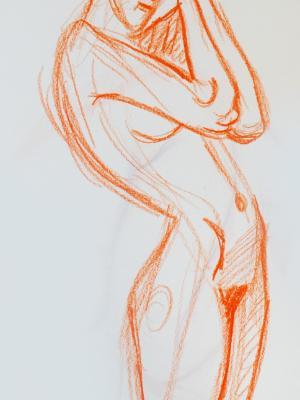 Raquel, Standing Nude