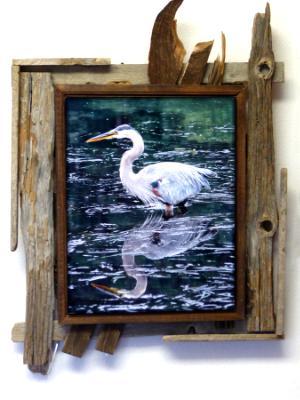 Blue Heron Portrait
