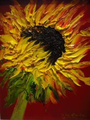 Sunflower (Private collection)