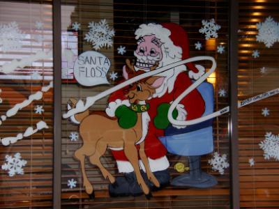 Santa floss