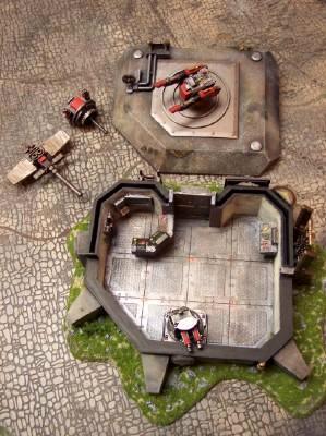 Bunker w/ accessories