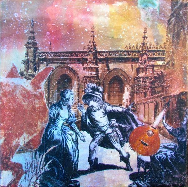 Coyote, Guitar, Act 2-Marriage of Figaro, Convento de Cristo, Tomar
