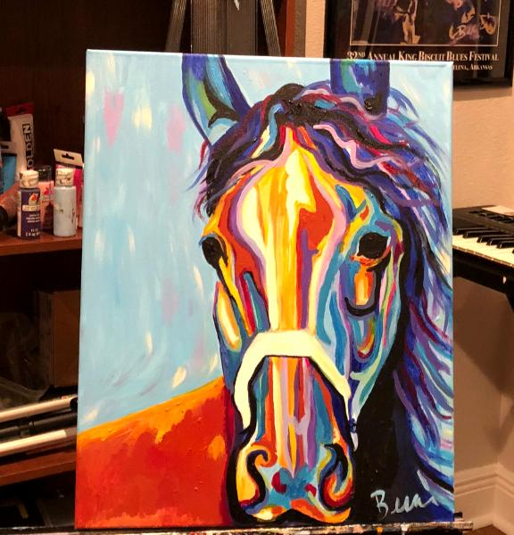 Horse of another color