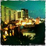 Collins Avenue Nightscape